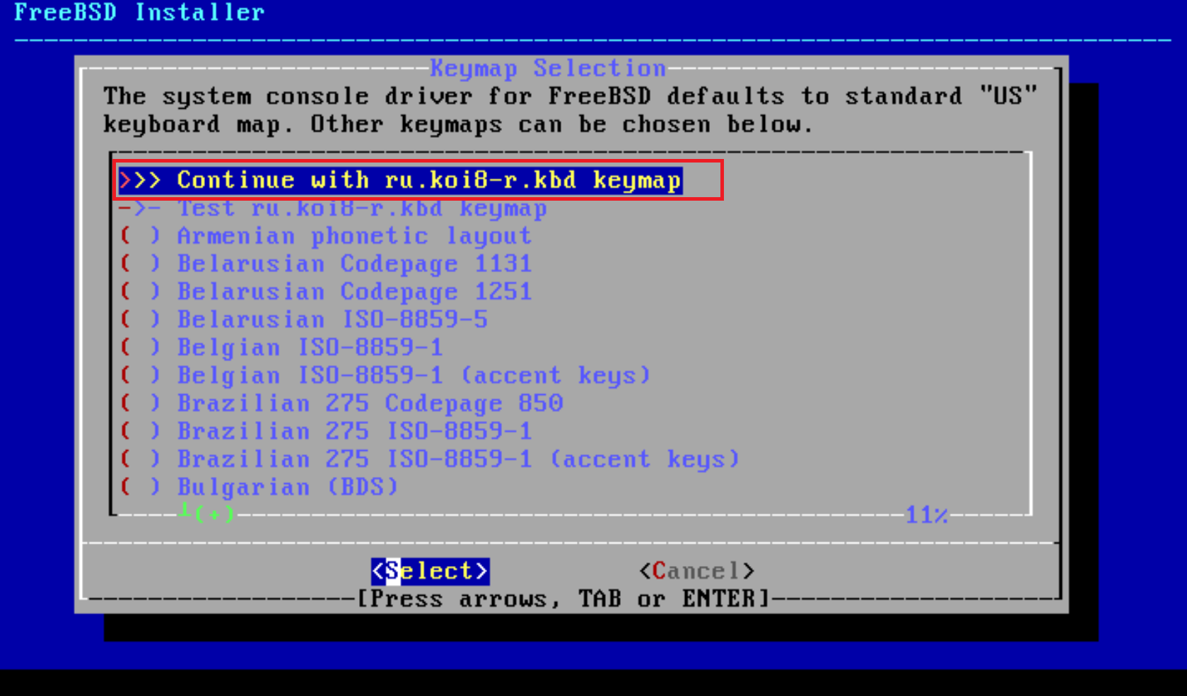 Установка FreeBSD и графической оболочки с USB флешки | Lyapidov